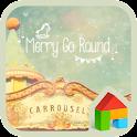 merry go round dodol theme icon