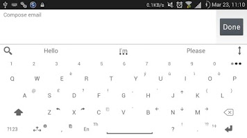 Screenshot of Theme for A.I.type Flat White