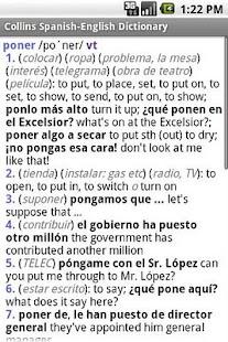 玩書籍App|Collins Spanish Dictionary TR免費|APP試玩