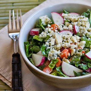 Crunchy Chopped Salad with Gorgonzola