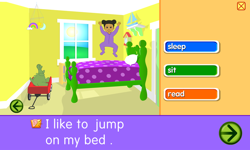 Starfall All About Me- screenshot