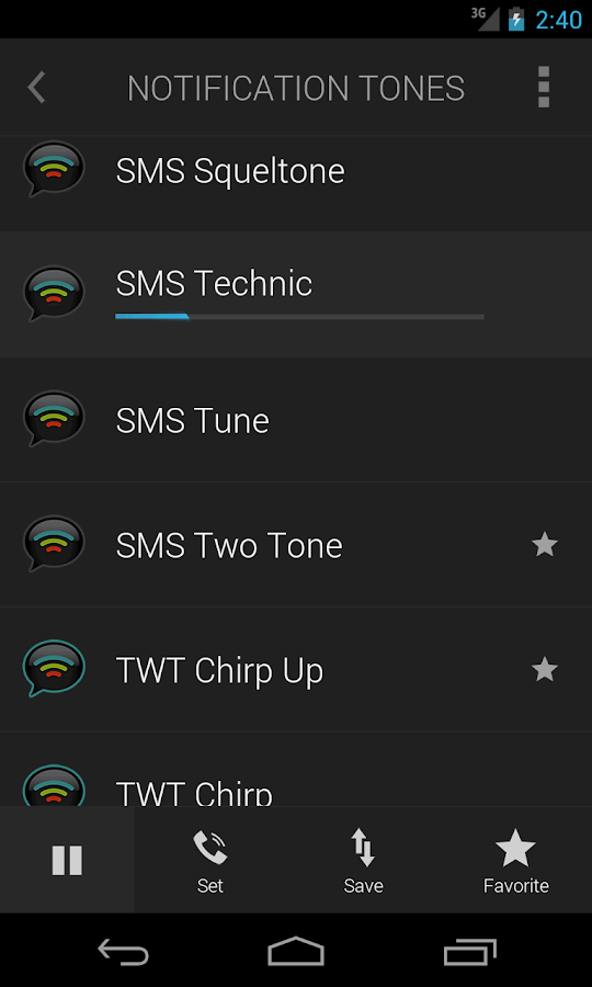 Ringtones Complete- screenshot