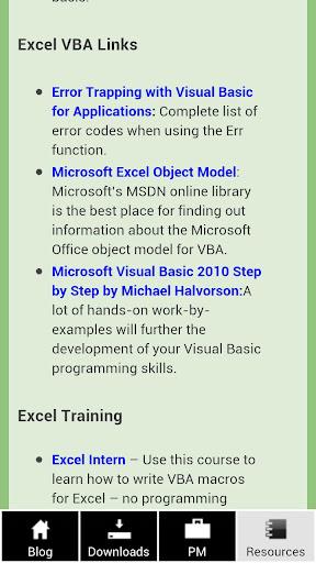 【免費商業App】Excel Spreadsheets Help-APP點子