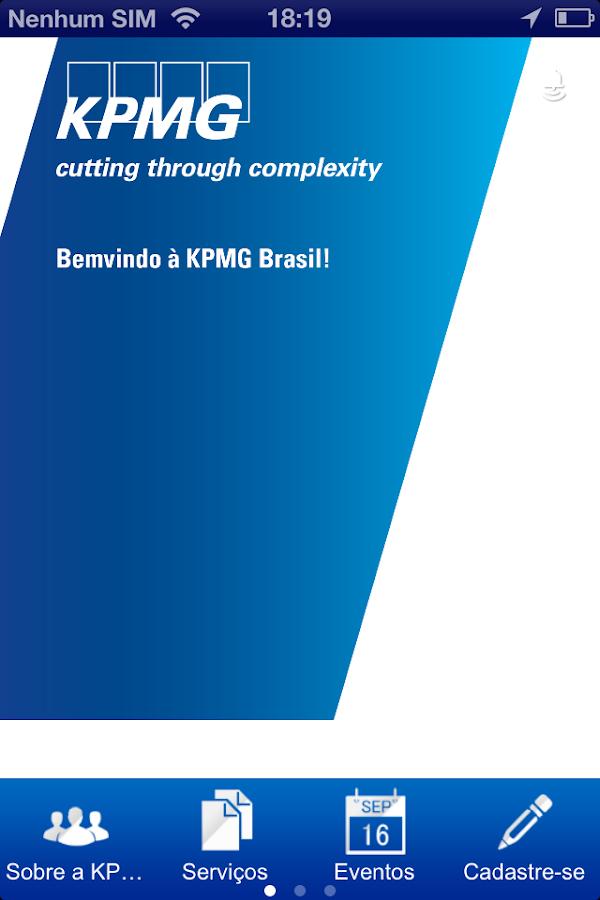 KPMG Brasil - screenshot