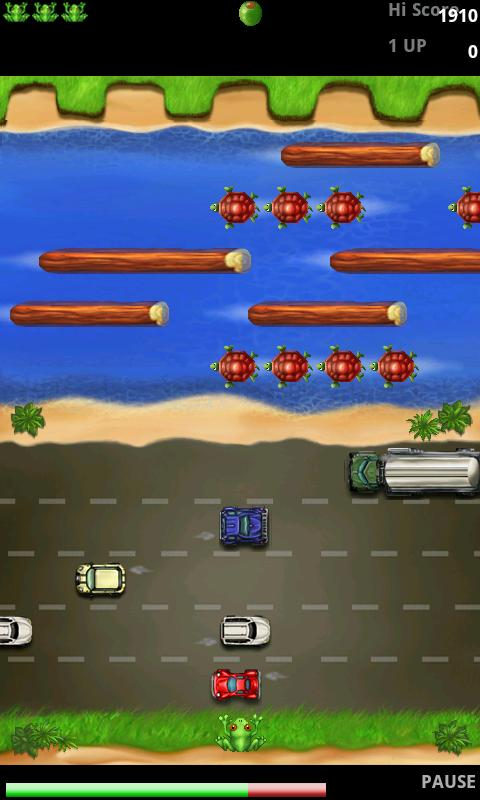 Frogger - FREE- screenshot