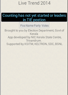 Kerala Election Trend - 2015- screenshot thumbnail