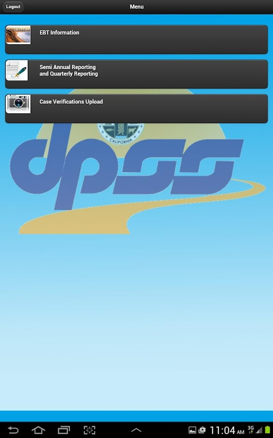 DPSS Mobile- screenshot