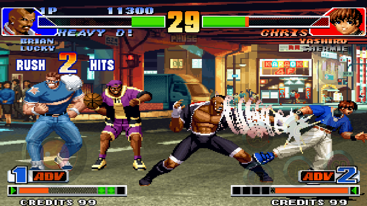 THE KING OF FIGHTERS '98- screenshot