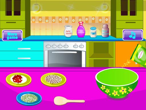 油炸魚烹飪遊戲
