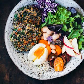 Spinach & Quinoa Patties