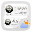 S LIGHT THEME GO WEATHER EX icon