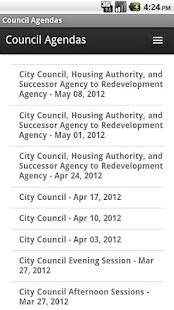 Riverside Council Agendas- screenshot thumbnail