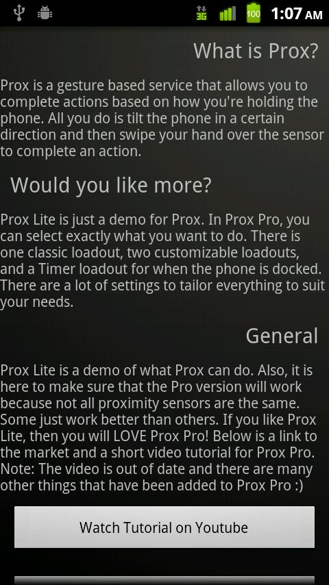 Prox Lite - screenshot