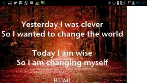 【免費書籍App】Best Rumi Quotes-APP點子