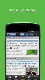 Startup News - Newsfusion - screenshot thumbnail