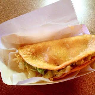 Easy Potato Tacos.