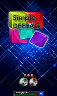 Simple Defrag Tablet FREE - screenshot thumbnail