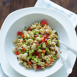 Pasta Salad with Lima Beans and Anchovies Recipe