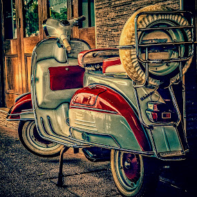 Scooter by Esther Visser - Transportation Motorcycles (  )