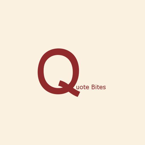 Quote Bites LOGO-APP點子