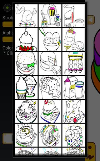 免費娛樂App|饮食着色学习|阿達玩APP