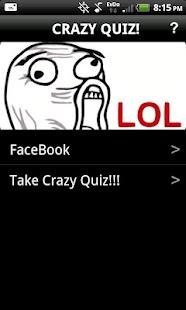 Crazy Quiz!- screenshot thumbnail