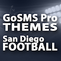 GoSMS San Diego Football Theme icon