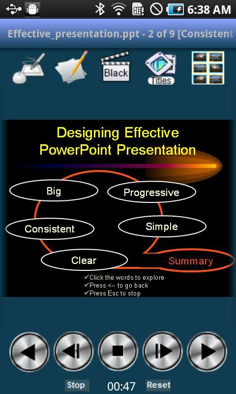 ShowDirector Remote Control- screenshot