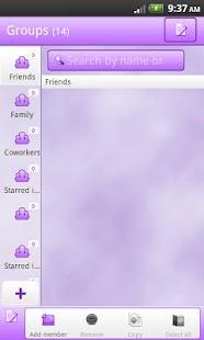 玩通訊App|GO Contacts EX - Elite Purple免費|APP試玩