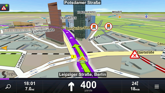 Sygic Truck Navigation - screenshot thumbnail
