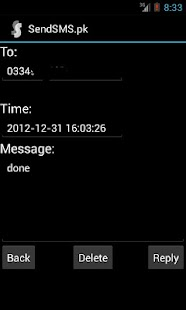 SendSMS.pk (SMS PK | Free SMS) - screenshot thumbnail