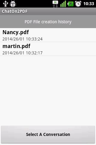 ChattOn To PDF