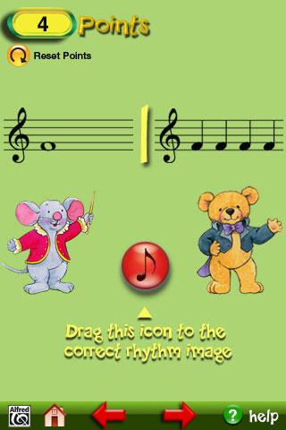 Music for Little Mozarts- screenshot