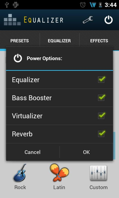 Equalizer Unlock Key - screenshot