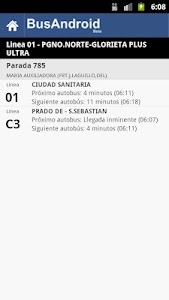 Sevilla BusAndroid screenshot 2