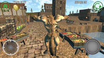 Screenshot of Werewolf Simulator Adventure