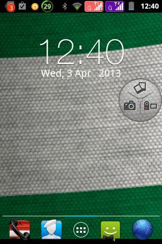 Nigerian flag livewallpaper