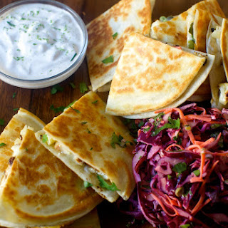 Charred Cauliflower Quesadillas