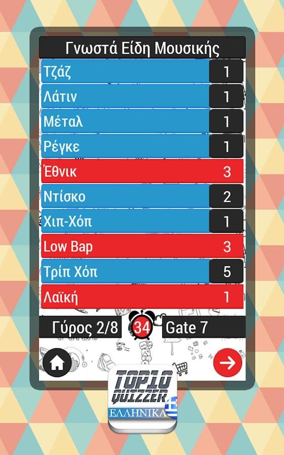 Top 10 quizzer ΚΟΥΙΖ ΕΛΛΗΝΙΚΑ - screenshot