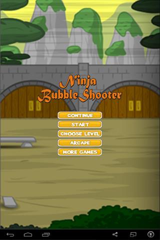Bubble Shooter Ninja