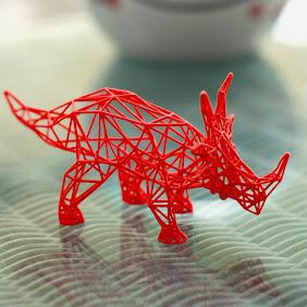 Styracosaurus Wireframe