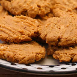Flourless, Sugar-Free Peanut Butter Cookies.