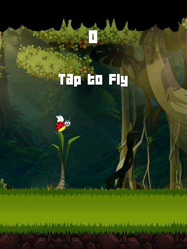 Flappy Bug Ultimate Game