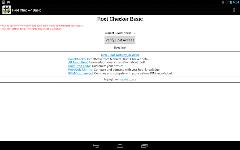 [Root Checker] Screenshot 1