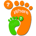 Where are you icon