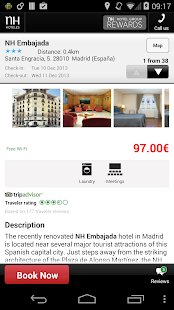 NH Hoteles Reservations - screenshot thumbnail