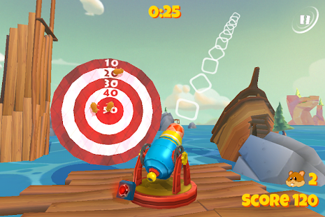 Boom Boom Hamster Golf- screenshot thumbnail