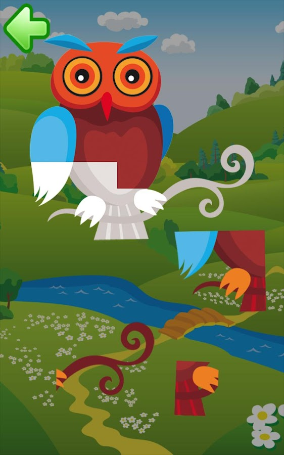 Animal puzzle for kids HD - screenshot