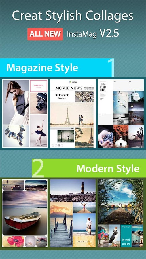 InstaMag - Magazine Collage - screenshot