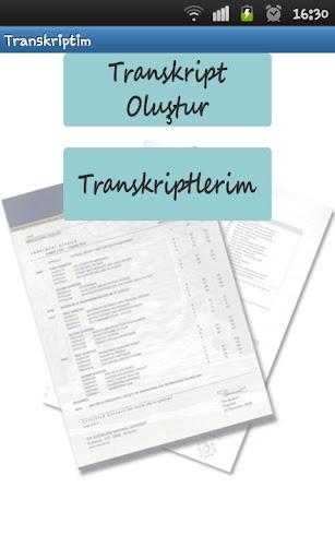 Transkriptim
